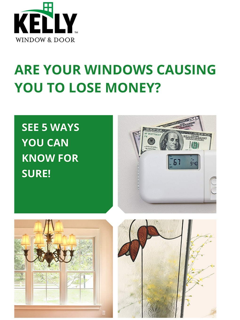 Are Your Windows Causing You To Lose Money?