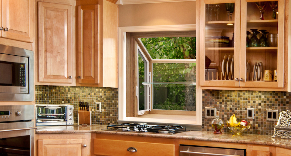 Professionally Installed Garden Windows in Raleigh NC