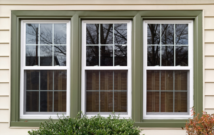 Internal window grids for easy cleaning