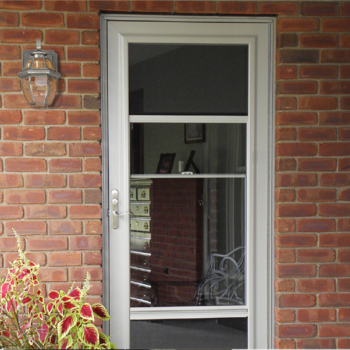 Provia Storm Door With Retracting Screens
