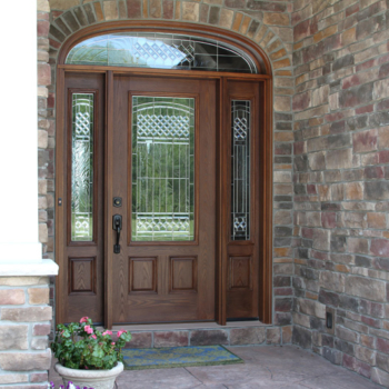Get a Beautiful Custom ProVia Entry Door with Sidelights and Transom Windows